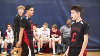 Faith Lutheran MS Basketball A-Team vs Tarkanian Rebels 6