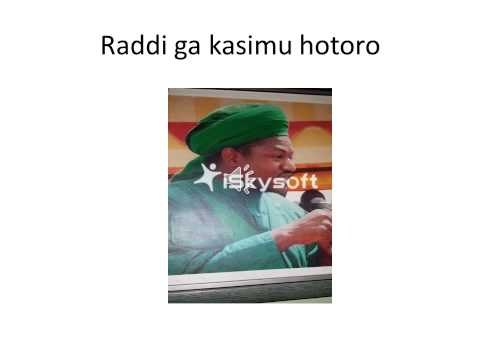 Download Raddi Ga Kasimu Hotoro HD Mp4 3GP Video and MP3