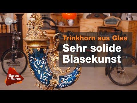 Stolzer Preis trotz Schieflage - Glashorn bei Bares für Rares vom 14.06.2019   ZDF