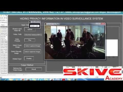 HIDING PRIVACY INFORMATION IN VIDEO SURVEILLANCE SYSTEM