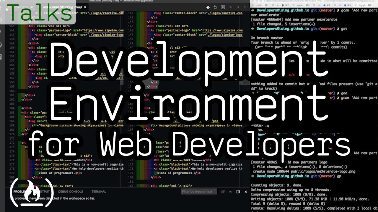 Development Environment for Web Developers