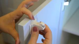 Baby Safety Magnetic Cabinet Locks By Brilliant Baybz