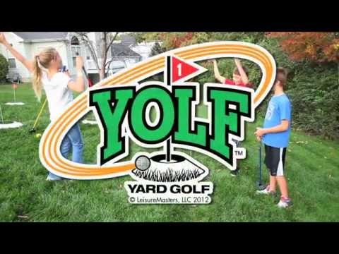 Yolf - Yard Golf Game