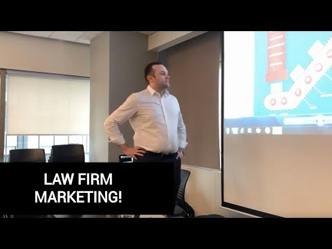 Law Firm Marketing Part 2 of 7
