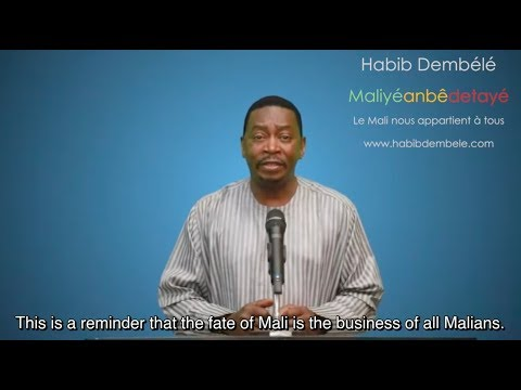 "Habib Dembele's (""Guimba National"") message to all the people of Mali - English subtitles"