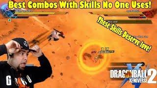 INSANE SUB SATURDAY! Xenoverse 2 Best Combos With Underrated Skills That No One Uses!