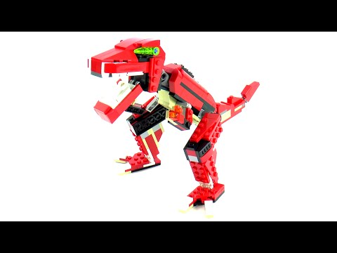 Vidéo LEGO Creator 31024 : Le bolide rouge