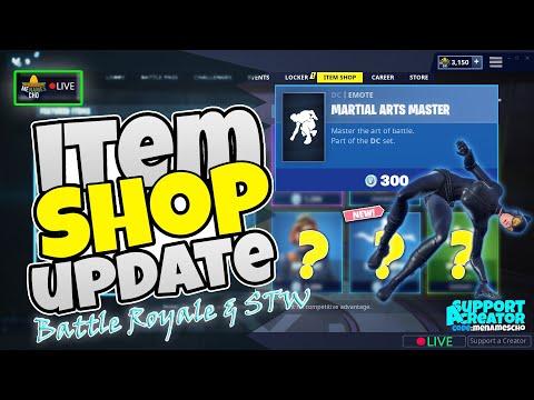 💥MenamesCho's LIVE 🔵 ITEM SHOP UPDATE - COUNTDOWN 🕐 Fortnite Battle Royale - Friday 11th Oct 2019