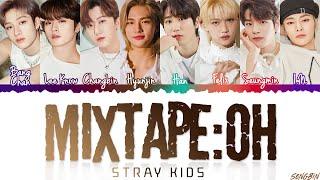 STRAY KIDS - 'MIXTAPE : OH' Lyrics (Color Coded Lyrics Eng/Rom/Han/가사)