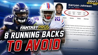 Do NOT Draft These Running Backs - Overvalued ADP and Draft Day Advice (2020 Fantasy Football)