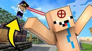 СНАЙПЕРЫ В МАЙНКРАФТ ПЕ Оружие Обзор на моды мод Видео Нуб против Про Троллинг прятки в Minecraft PE
