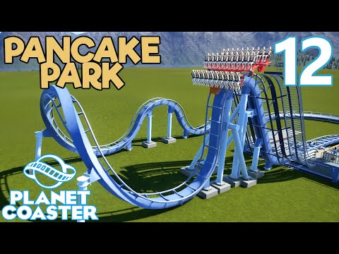 Planet Coaster PANCAKE PARK - Part 12 - THE MOST INTENSE DIVE COASTER EVER CREATED