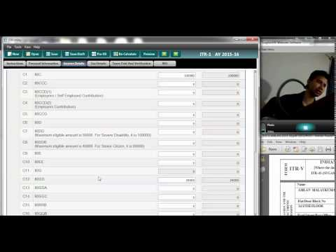 Video How to claim tax deduction benefit under 80 GG for rent paid in absence of HRA(Live)
