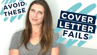 5 Things to Avoid on Your Cover Letter for an Internship  |  The Intern Hustle