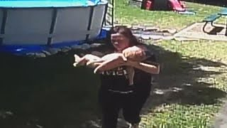 Texas Mom Performs CPR On Baby After He Climbed Ladder Of Above Ground Pool