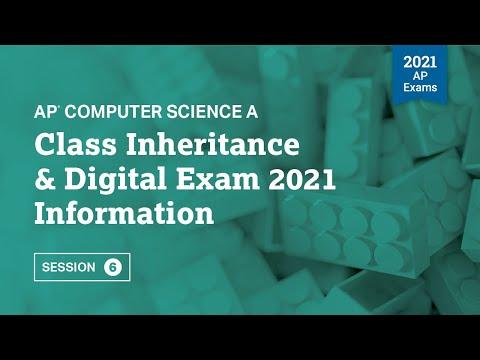 Class Inheritance & Digital Exam 2021 Information | Live Review ...