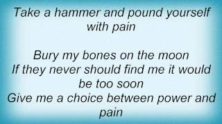 Dio - Pain Lyrics