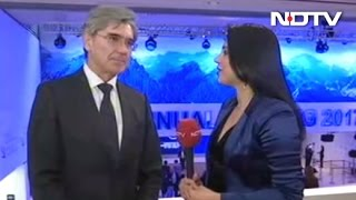 Demonetisation Was A Spectacular Move Siemens Chief To NDTV At Davos