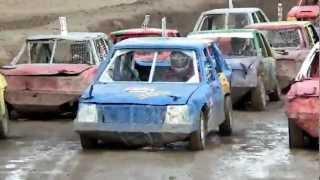 preview picture of video 'Stock-car de Nueil-les-Aubiers (7) , 12 août 2012.'