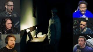 """""""Реакции Летсплейщиков"""" на Призрака в Доме из The Beast Inside Demo"""