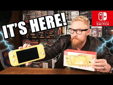NINTENDO SWITCH LITE REVIEW - Happy Console Gamer