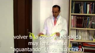 """Ejercicio de Fortalecimiento """"1"""": ROTACIÓN EXTERNA"""