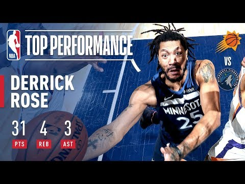 031d547f0ab Derrick Rose Goes For 29 In The 2nd Half And The Game-Winner!