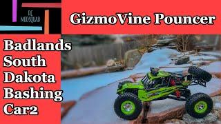 GizmoVine Pouncer 1/12 scale 4wd RC car rock racer.