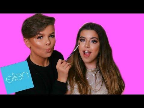 Makeup Tutorial By Ellen Show Star Reuben De Maid | Sophia Grace