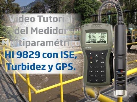 Medidor multiparamétrico HI9829