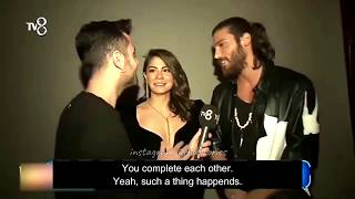 can yaman and demet ozdemir interview english subtitles - 免费在线