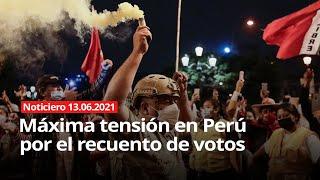 ULTRADERECHA POLARIZA LAS CONTRADICCIONES EN LA SOCIEDAD PERUANA
