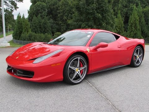 2014 Ferrari 458 Italia / Spider Start Up, Test Drive, and In Depth Review