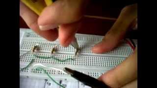Circuito En Paralelo : Circuito electrico en serie y paralelo maqueta angel beats