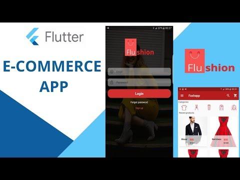 Flutter Ecommerce Template