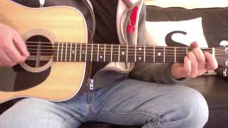 The Verve - The Drugs Don't Work (Acoustic Guitar Lesson)