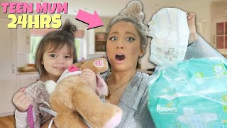 I tried becoming a TEEN MUM for 24hours!