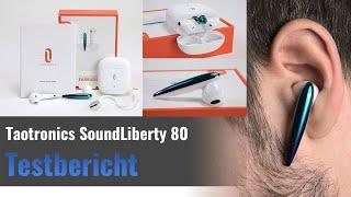 TaoTronics Soundliberty 80 im Test - Bluetooth InEar-Kopfhörer mit Regenbogenlack