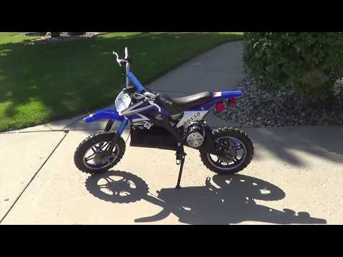 Rosso 1000W 36V Electric Dirt Bike Review-Great Kids Dirt Bike!
