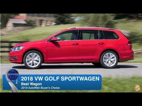 2018 Volkswagen Golf SportWagen Wins the AutoWeb Buyer