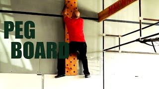 HOW TO CLIMB THE PEG BOARD - Paradiso Crossfit