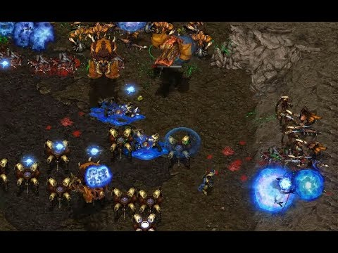 ByuL (P) v ret (Z) on Heartbreak Ridge - StarCraft  - Brood War REMASTERED