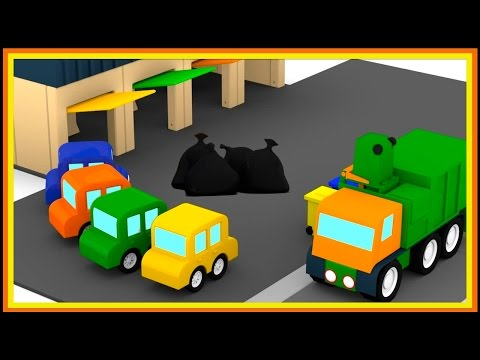 RUBBISH VIDEO! Cartoon Cars Compilation Cartoons for Children - Videos for Kids - Kids Cars Cartoons