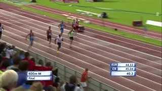 Men's 400m Final (U23 Tallinn 2015)