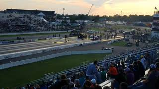 Fastest side by side funny car race in history 2017 @ BIR