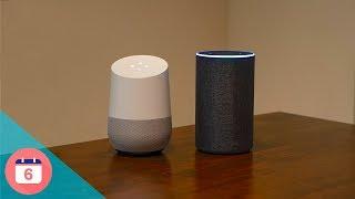 Amazon Echo vs. Google Home first impressions