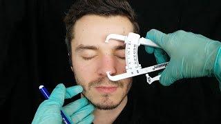ASMR Face, Head, Scalp & Hair Examination / Check Up