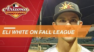 White on keeping momentum in the Arizona Fall League