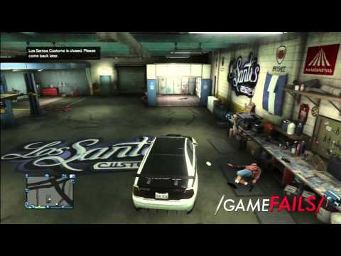 "Game Fails: GTA V ""My Car Doctor Needs A Human Mechanic"""