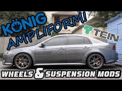 Konig Ampliform on my Acura TL?!  Wheels and Suspension Mods